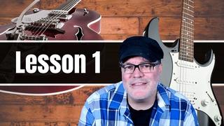 Beginner Guitar Lessons: Guitar Lesson 1