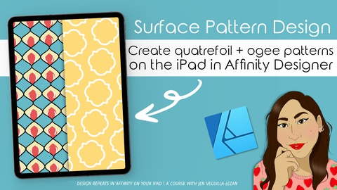 Surface Pattern Design: Learn to Design Quatrefoil