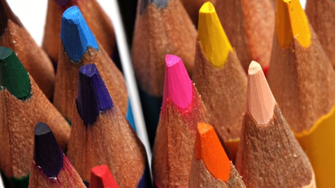 Introduction to Colored Pencils: Basic Techniques for Getting Started