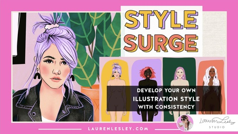 Style Surge - Develop Your Own Illustration Style